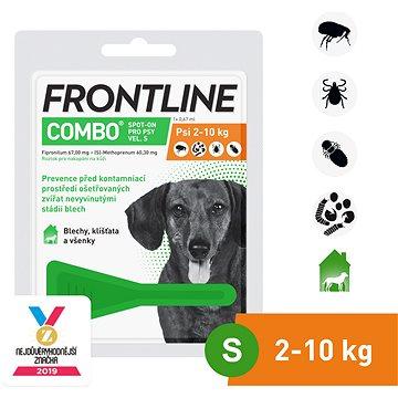 Frontline combo spot - on pro psy S (2 - 10 kg) (8594072852060)