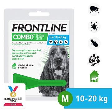 Frontline combo spot - on pro psy M (10 - 20 kg) (8594072852077)