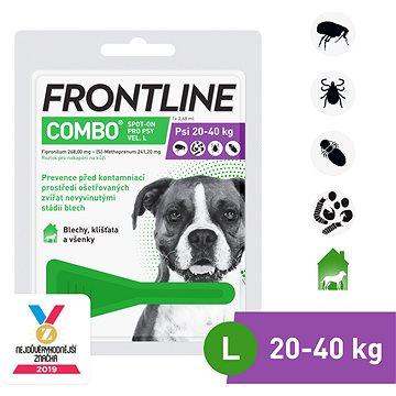 Frontline combo spot - on pro psy L (20 - 40 kg) (8594072852084)