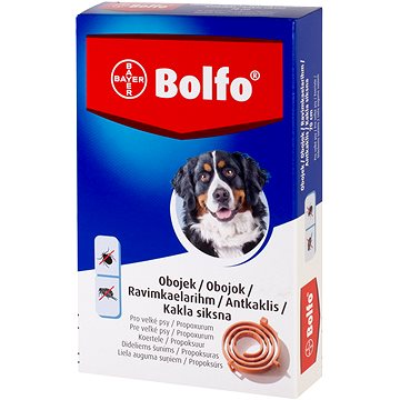 Bolfo 4,442 g medikovaný obojek pro velké psy (4007221035190)