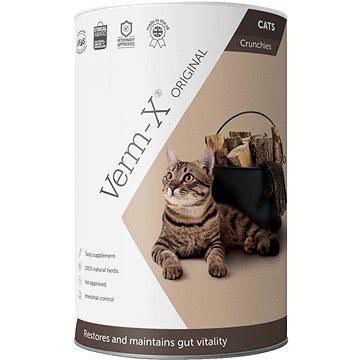 Verm-X Přírodní granule proti střevním parazitům pro kočky 60g (5060126300601)