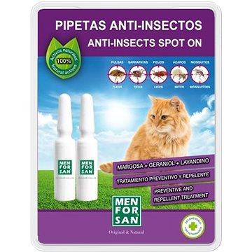 Menforsan Antiparazitní pipety pro kočky 2 ks (8414580020662)