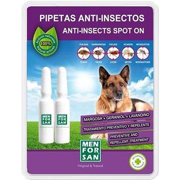 Menforsan Antiparazitní pipety pro psy 2 ks (8414580020648)