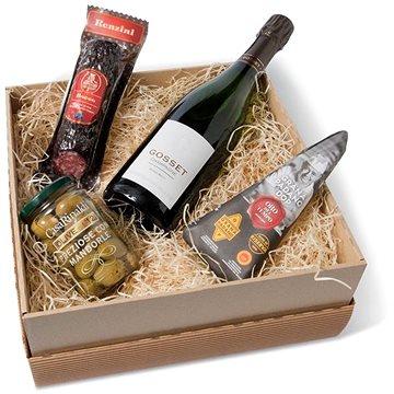 Dárková sada Champagne Gosset (7020292538916)