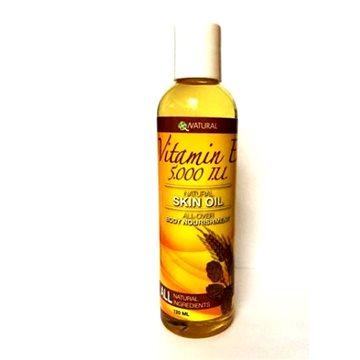 Tekutý vitamín E na pleť 5000 IU, 120 ml (23777)