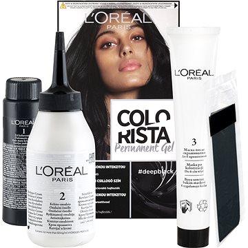 ĽORÉAL PARIS Colorista Permanent Gel 1.0 Deep Black 60 ml (3600523770717)