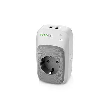 Vocolinc Smart adapter, 2x USB port + night light (713440638435)