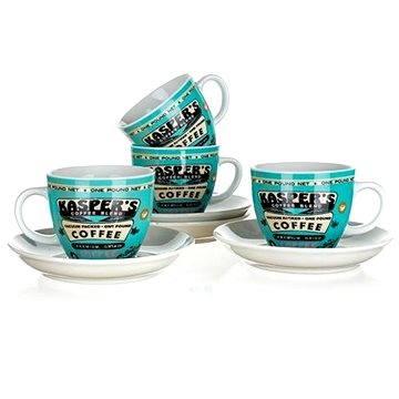 BANQUET Sada šálků 4 ks COFFEE A11738 (A11738)
