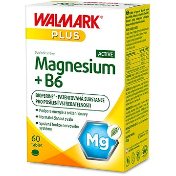 Magnesium + B6 ACTIVE 60 tablet (8596024014229)