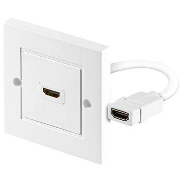 PremiumCord HDMI zásuvka v panelu 1x HDMI A - HDMI A (kphdmz01)