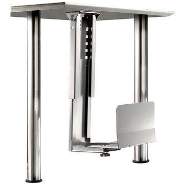 Roline Držák PC pod desku stolu, stříbrný, 30kg
