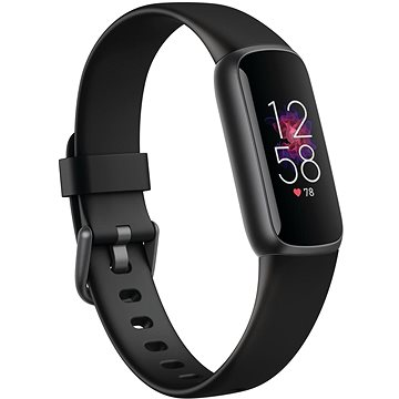 Fitbit Luxe - Black/Graphite Stainless Steel (FB422BKBK)