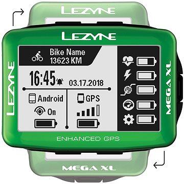 Lezyne Mega XL GPS Green (1-GPS-MEGAXL-V103)