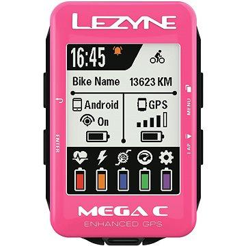 Lezyne Mega C GPS Pink (1-GPS-MEGAC-V122)