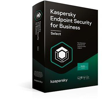 Kaspersky Endpoint Select, obnova (elektronická licence)