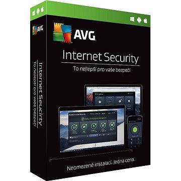 AVG Internet Security for Windows Multi-Device (elektronická licence)