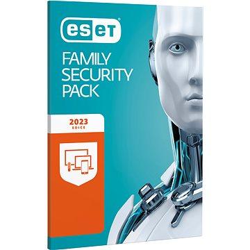 ESET Family Security Pack pro 3 počítače a 3 mobilní zařízení na 12 měsíců (BOX)