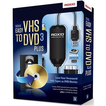 Easy VHS to DVD 3 Plus EN/FR/DE/ES/IT/NL (BOX) (251000EU)