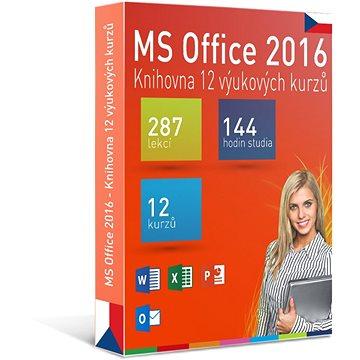 GOPAS MS Office 2016 - 12 samostudijních výukových kurzů na 365 dní CZ (elektronická licence) (Office2016-365CZ)