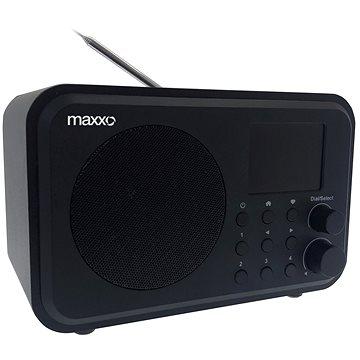 Maxxo DAB+ internetové rádio – DT02 (8595235808290)