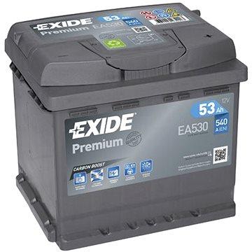 EXIDE Premium 53Ah, 12V, EA530 (EA530)