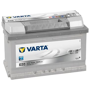 VARTA SILVER Dynamic 74Ah, 12V, E38 (E38)