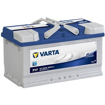 VARTA BLUE Dynamic 80Ah, 12V, F17 (F17)