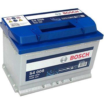 BOSCH S4 008, 74Ah, 12V (0 092 S40 080) (S4 008)