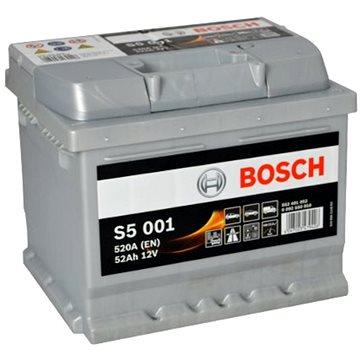 BOSCH S5 001, 52Ah, 12V (0 092 S50 010) (S5 001)