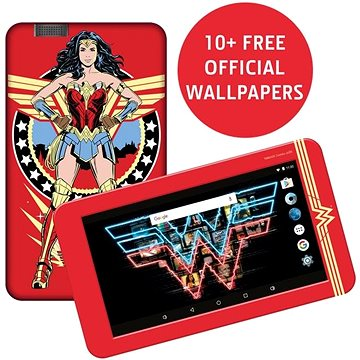 "eSTAR Beauty HD 7"" WiFi 2+16 GB Wonder Woman Warner Bros® (EST000061)"