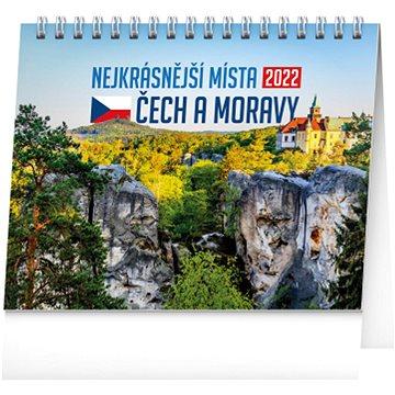 Stolní kalendář Nejkrásnější místa Čech a Moravy 2022
