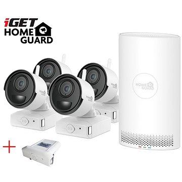 iGET HOMEGUARD HGNVK68004 + 4x kamera FHD 1080p, 6 kanálů NVR (HGNVK68004)