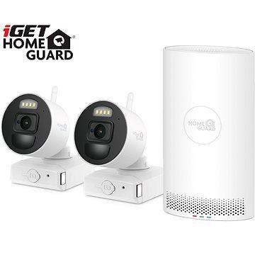 iGET HOMEGUARD HGNVK88002P + 2x IP kamera FHD 1080p (HGNVK88002P)