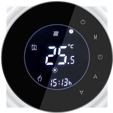 iQtech SmartLife GALW-B, WiFi termostat pro kotle s potenciálovým spínáním, černý (IQTGALW-B)