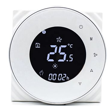 iQtech SmartLife GALW-W, WiFi termostat pro kotle s potenciálovým spínáním, bílý (IQTGALW-W)