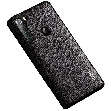 MoFi Litchi PU Leather Case Xiaomi Redmi Note 8T Hnědé (OEYX1787brown)