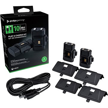 PDP Play and Charge Kit - Xbox (708056067175)