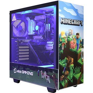 Alza GameBox GTX1650 Minecraft (AZGB1660i3v1)
