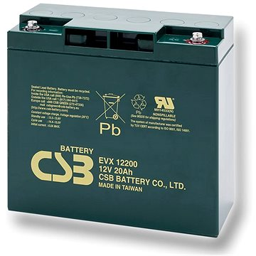 CSB EVX12200, baterie 12V, 20Ah (EVX12200)