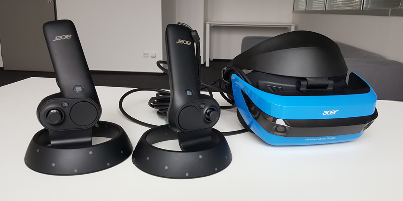 Acer Windows Mixed Reality Headset (RECENZE)