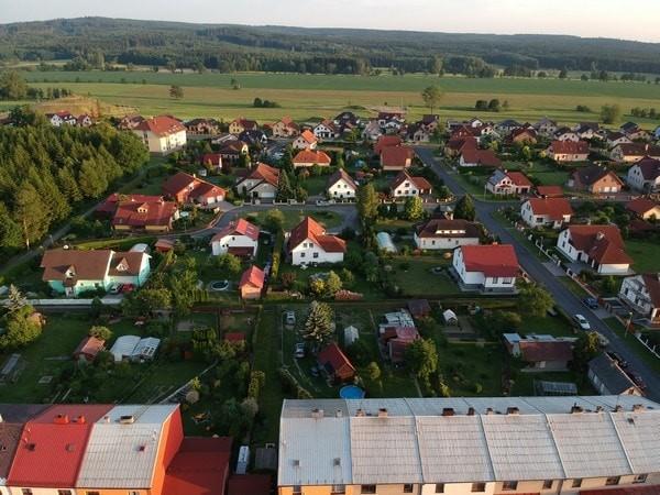DJI Spark dron ukázkový snímek fotka sample