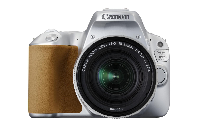 Canon EOS 200D stříbrný