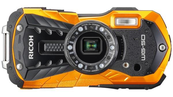 Vodotěsný fotoaparát Pentax Ricoh WG-50