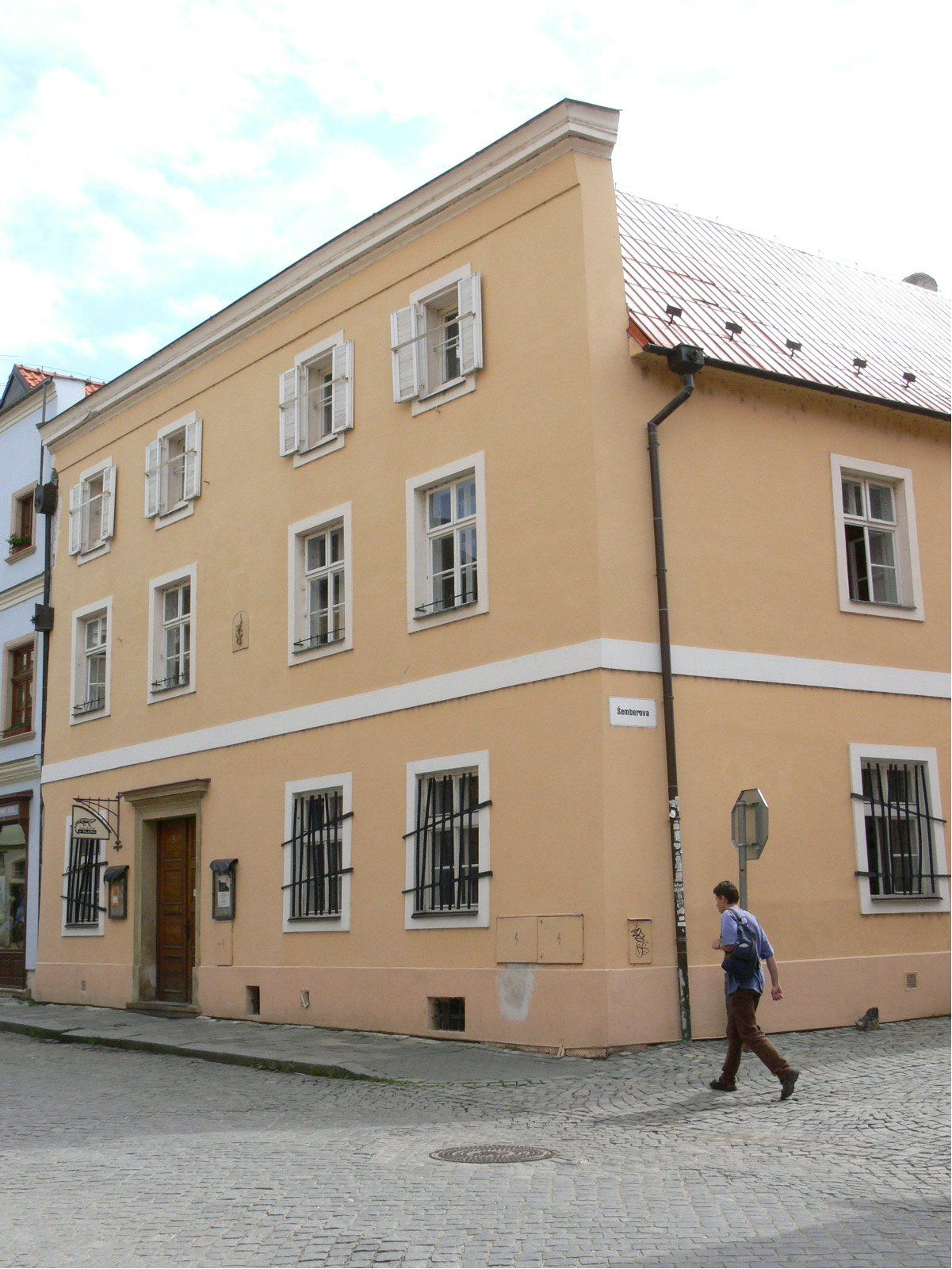 P-Centrum Olomouc-budova