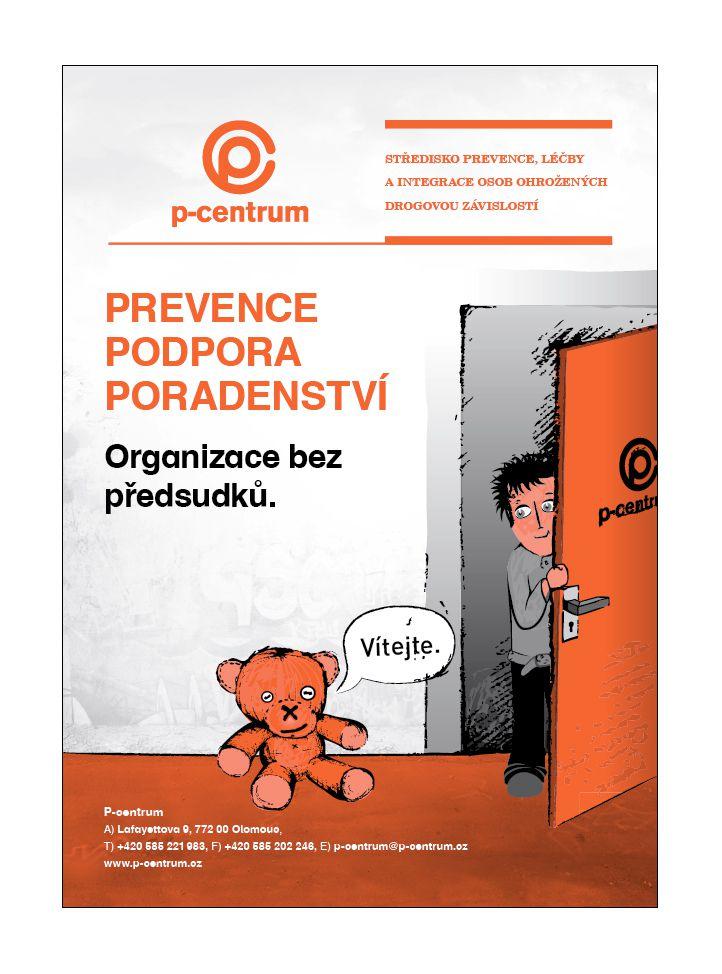 P-Centrum Olomouc-plakat