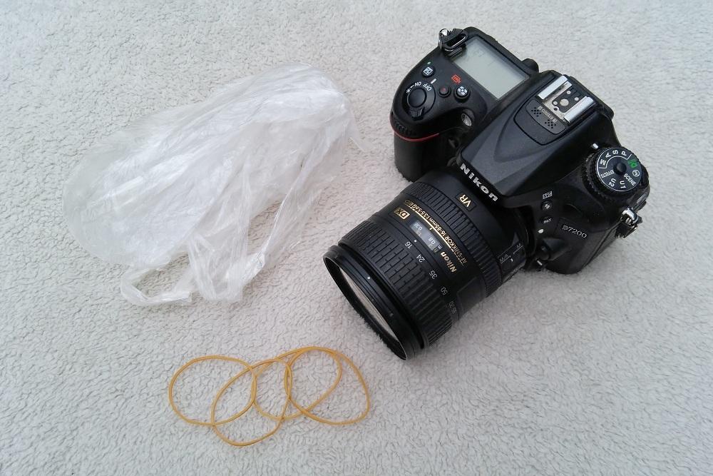 Ochrana fotoaparátu na dovolené před vodou
