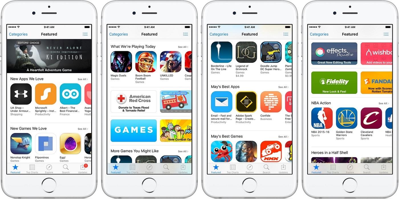 Nový App Store 2017