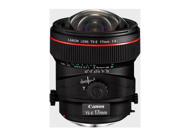CANON TS-E 17MM F/4 LTS-E